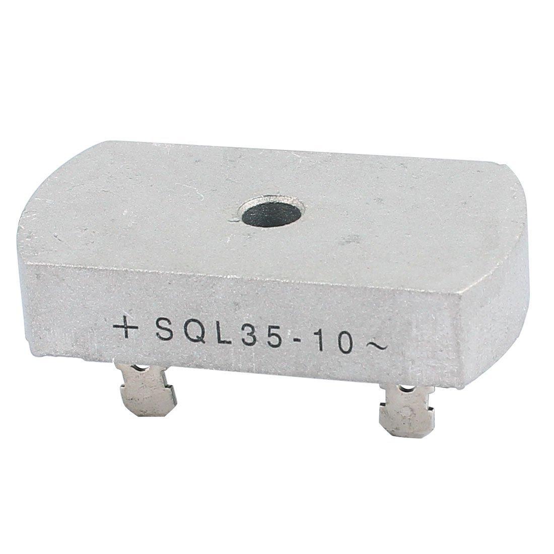 eDealMax a16032200ux0396 35A de Plata Para soldar Puente trifásico Rectificadores Para electrónica de componentes, 1000V: Amazon.com: Industrial & ...