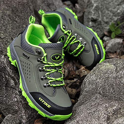 Waterproof 5 for Boots Green army Hiking Boys Hiking Shoes Hiking Girl Littleplum Boot Kids Sneaker AIqwTx7B