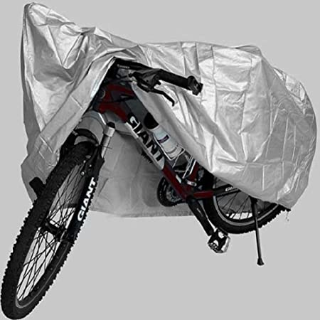 Schrodinger15 50007EE Bicycle Cycle Acrylic Double Stitching Rain Water Resistant Dust Proof Cover with Zip Pouch �