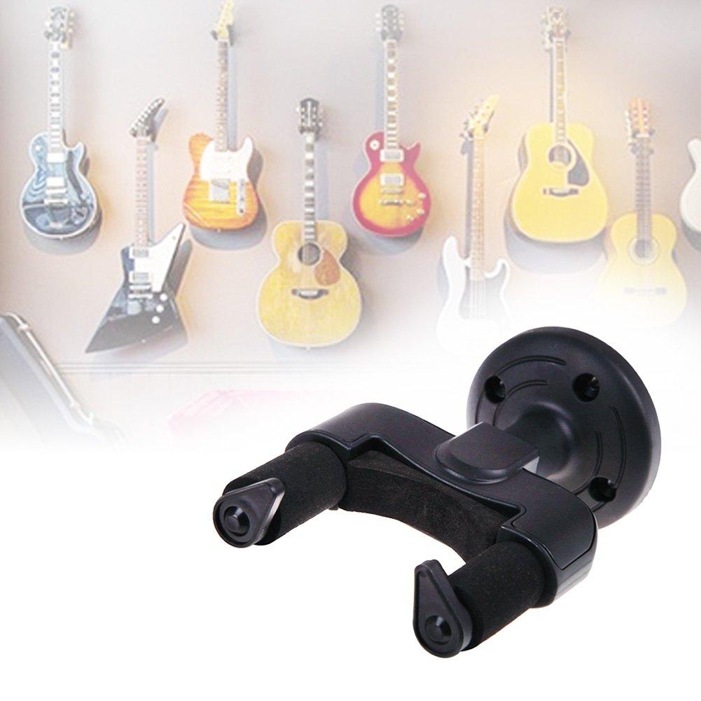 1 Set Electric Guitar Wall Hanger Holder Stand Rack Hook Mount for All Size Guitars Universal String Instruments Wall Hanger