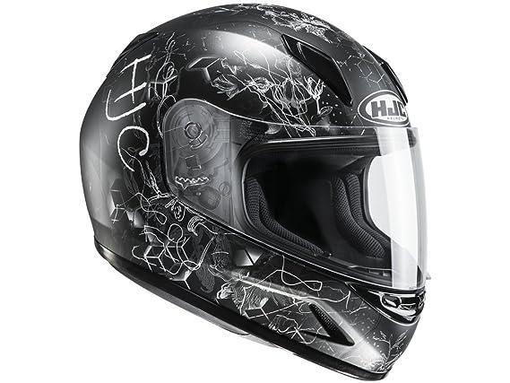 HJC Helmets Casco Hjc CLY cl de y vela MC de 5SF - Casco de Moto para Niños para niños (S (50/51)): Amazon.es: Coche y moto