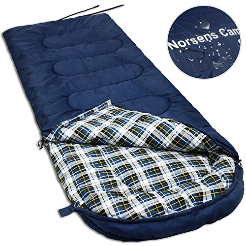 40 Sleeping Bag (NORSENS Camping Backpacking Hiking Sleeping Bag 0 Celsius Degree, Compact Lightweight/Ultralight Sleeping Bags for Adults,Large)