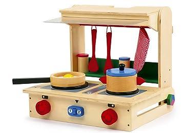 Legler Kinder Spielküche Holz Küche Im Koffer Profi