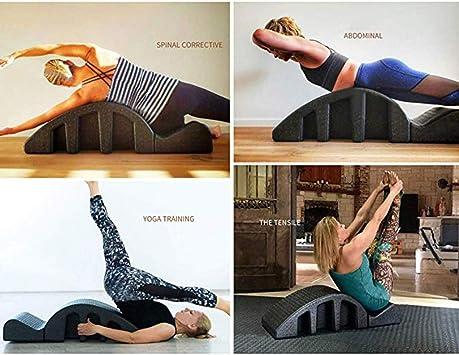 MSCOOL Pilates Espinal Ortesis, Multi-Funcional De Artefactos Yoga ...