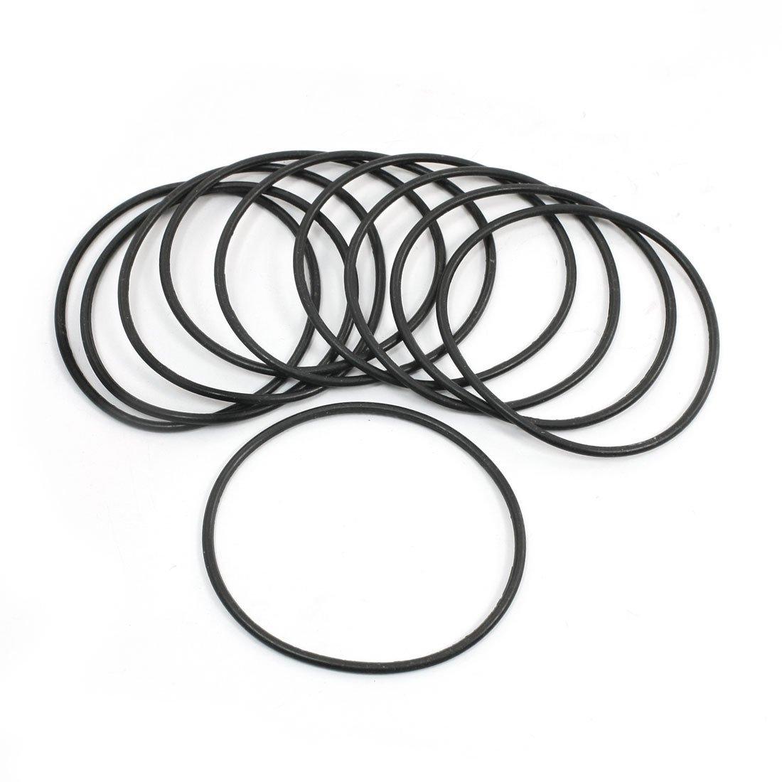 Sourcingmap a14022400ux0519 - Contenente gomma guarnizione o-ring olio parti meccaniche 72, 3 x 2, 65 mm 10 pezzi
