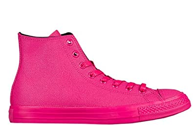 4a71932be3ec Converse Chuck Taylor All Star Hi Top Vivid Pink Black Vivid Pink 4 Mens