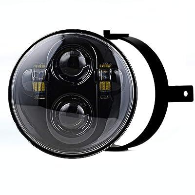 Eagle Lights Generation II Black LED Headlight Kit for Honda VTX: Automotive