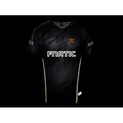 Fnatic Pro Wear Male Player Jersey 2018  91aff7e40