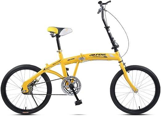 Paseo Bicicleta Plegable para Adultos Ultra Ligera Bicicleta ...