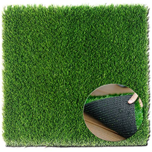 ZestyNest Grass Door Mat With SmartDrain Technology - Perfect For Your Garden, Balcony & Porch (24X30 (Texas Tech Red Raiders Floor)