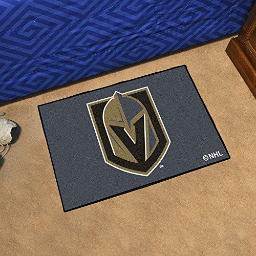 FANMATS NHL Vegas Golden Knights 22891 Starter Mat, One Size, Team Color ()