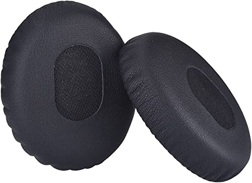 Mudder 1 Pair Replacement Earpads Ear Pad Cushion Replacement for Bose Quietcomfort 3, On Ear, OE1 Headphones, Black