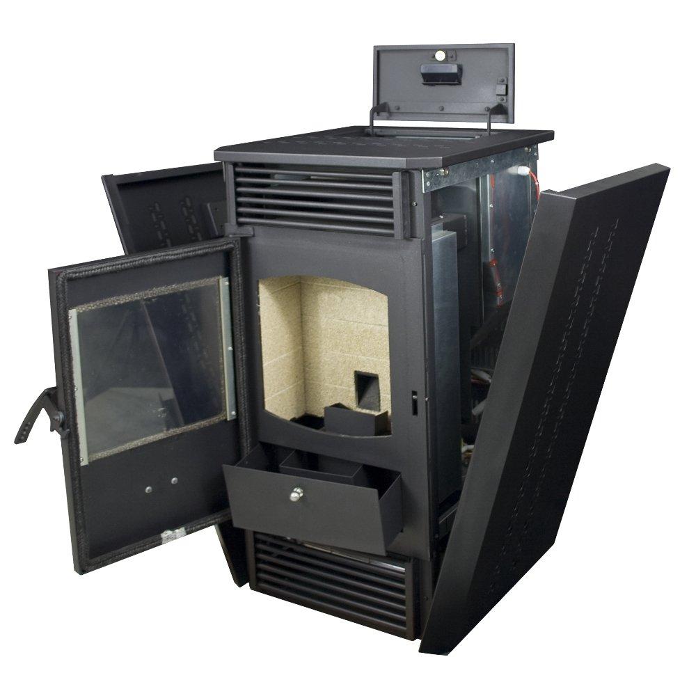 amazon com us stove 5824 pellet with igniter furnace home u0026 kitchen