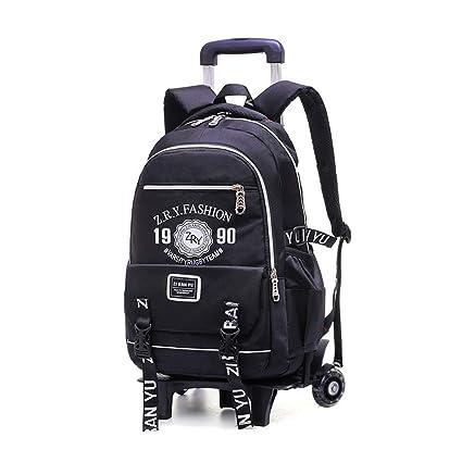 BAG Mochila Trolley para niños de Gran Capacidad Mochilas Escolares Mochila de Moda de 2/
