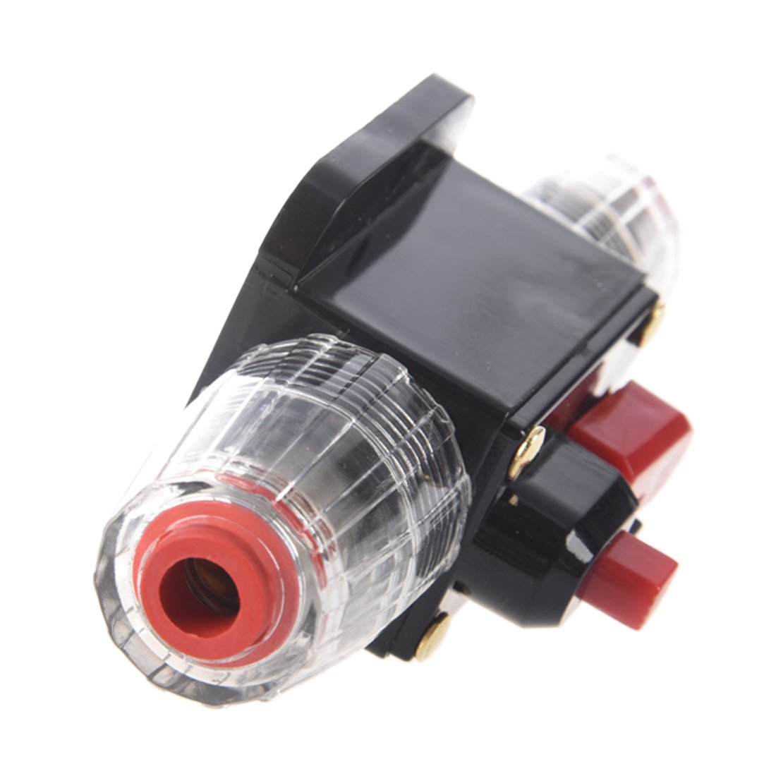 12V-24V DC 20A Car Audio Inline Circuit Breaker Reset Fuse Holder for Stereo Switch System Protection (20A)