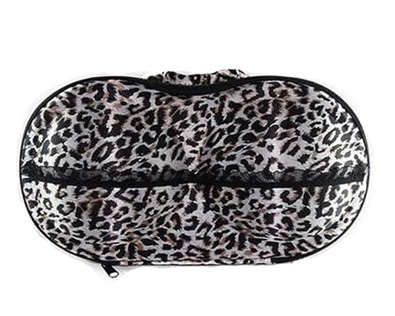 Del grano del leopardo del sujetador de deportes al aire libre Organizador Bolsa almacenaje de la ropa: Amazon.es: Deportes y aire libre