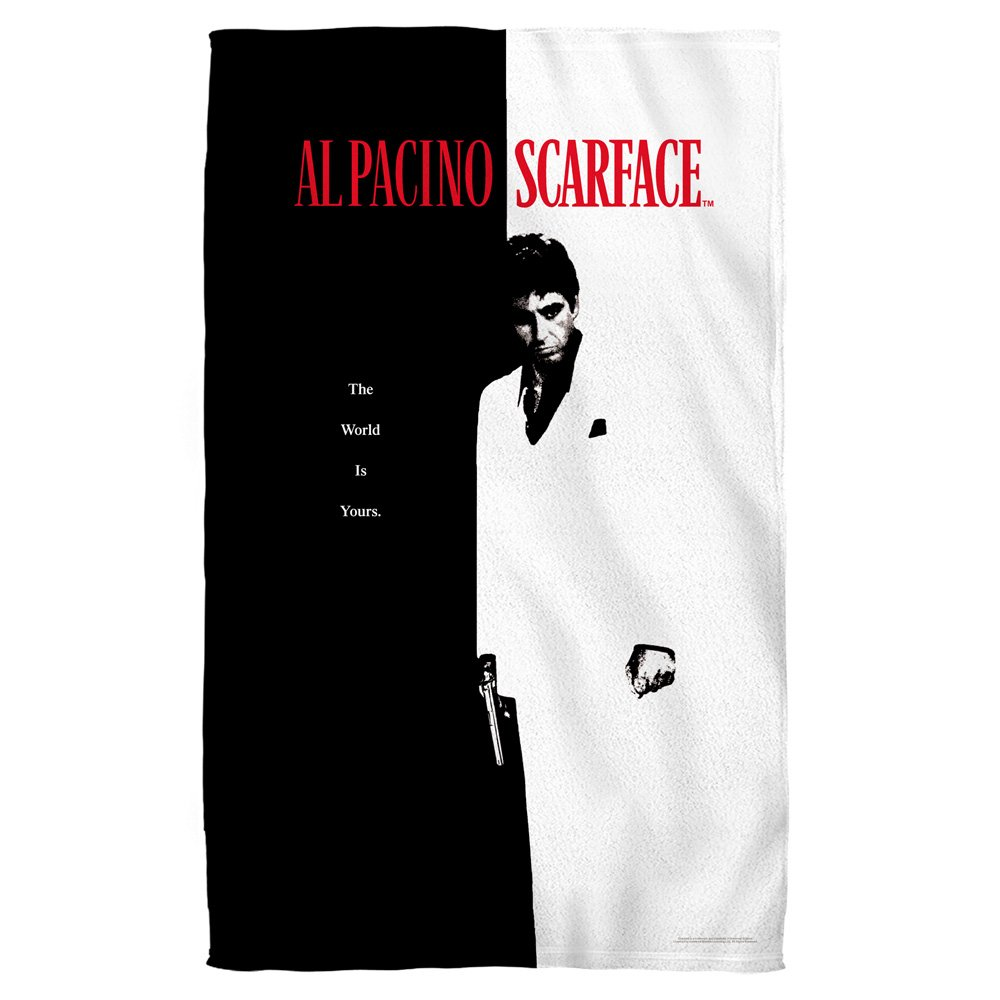 Scarface - Poster Beach Towel 36 x 57in