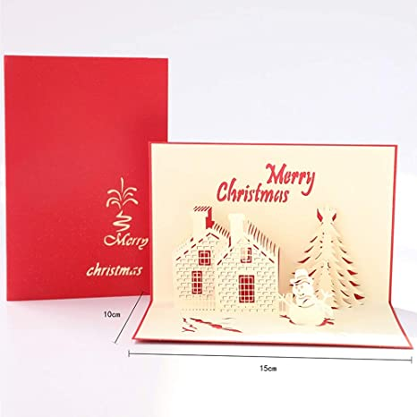 Sdhs-Christmas supplies Tarjeta De Navidad, Tarjeta De ...