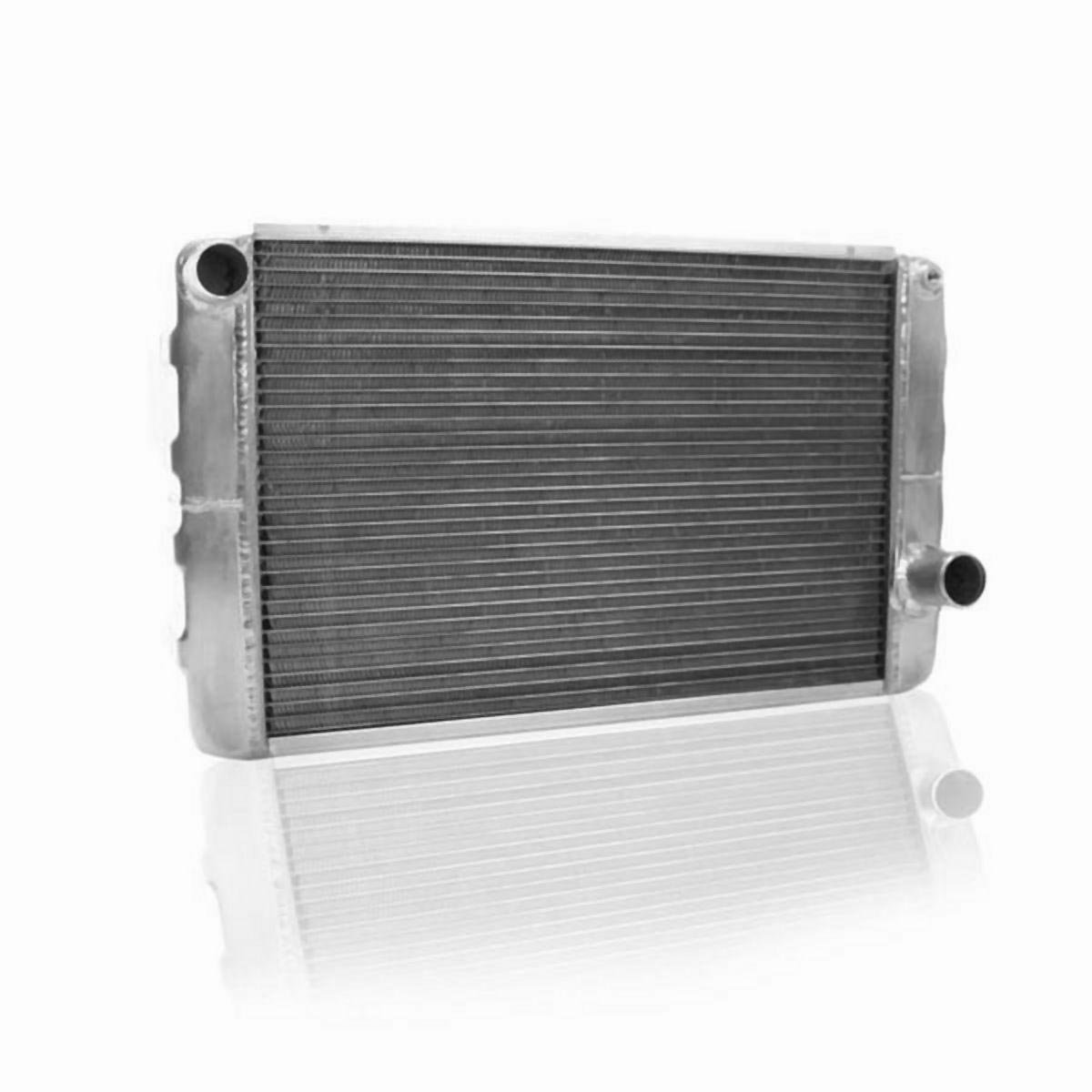 Griffin Radiator 1-25221-X ClassicCool 26 x 16 2-Row Aluminum Radiator with 1 Tube
