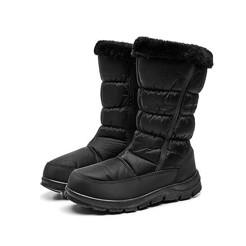 81c934c6fb9 DoGeek Botas Descanso Nieve Botas de Pelo Mujer Invierno Impermeable  Mantener Caliente Cómodo Botas Altas de Invierno  Amazon.es  Zapatos y  complementos