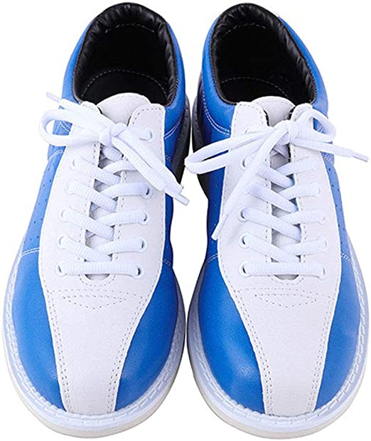 Cuir Professionnel Bowling Baskets Chaussures Non-Slip Respirant Sneakers Bowl,42 JJK Femmes Hommes Bowling Chaussures