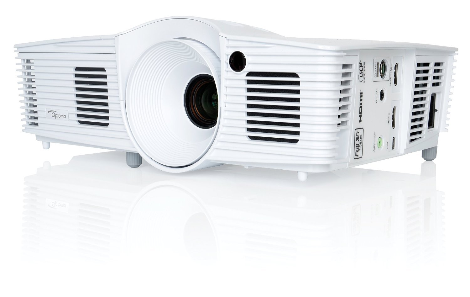 4. Optoma HD26 1080p 3D DLP Home Theater Projector