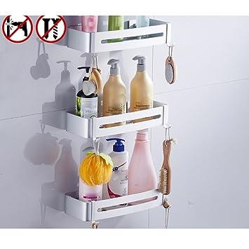 Fein Nicht Perforierten Bad Rack Kunststoff Hängen Rack Für Wc Badezimmer Regale