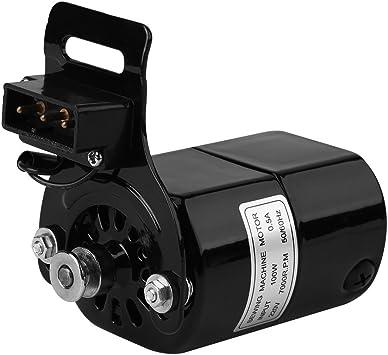 La máquina de coser doméstica del motor de la máquina de coser de 220V 100W parte 7000 RPM K-bracket 0.5 AMP: Amazon.es: Hogar