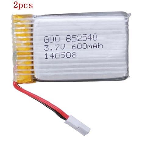 ELEGIANT Batería para Drone Syma X5c X5 3.7V 600mAh 25C Lipo ...