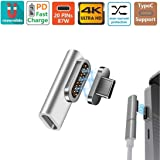sunshot USB C Magnetic Charger Adapter, Type C 86W Quick Fast Charging Connector Compatible MacBook, MacBook Pro, Mote Z…