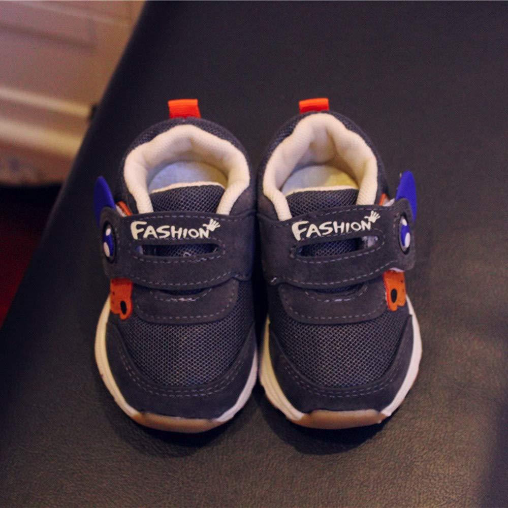 Celendi Cute Winter Sandals for Baby Boy Girl Prewalker Lace up Indoor Sneakers