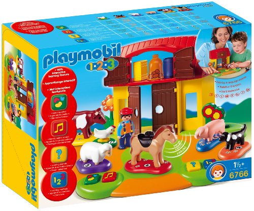 PLAYMOBIL Interactive Play and Learn 1.2.3 - 123 Farm
