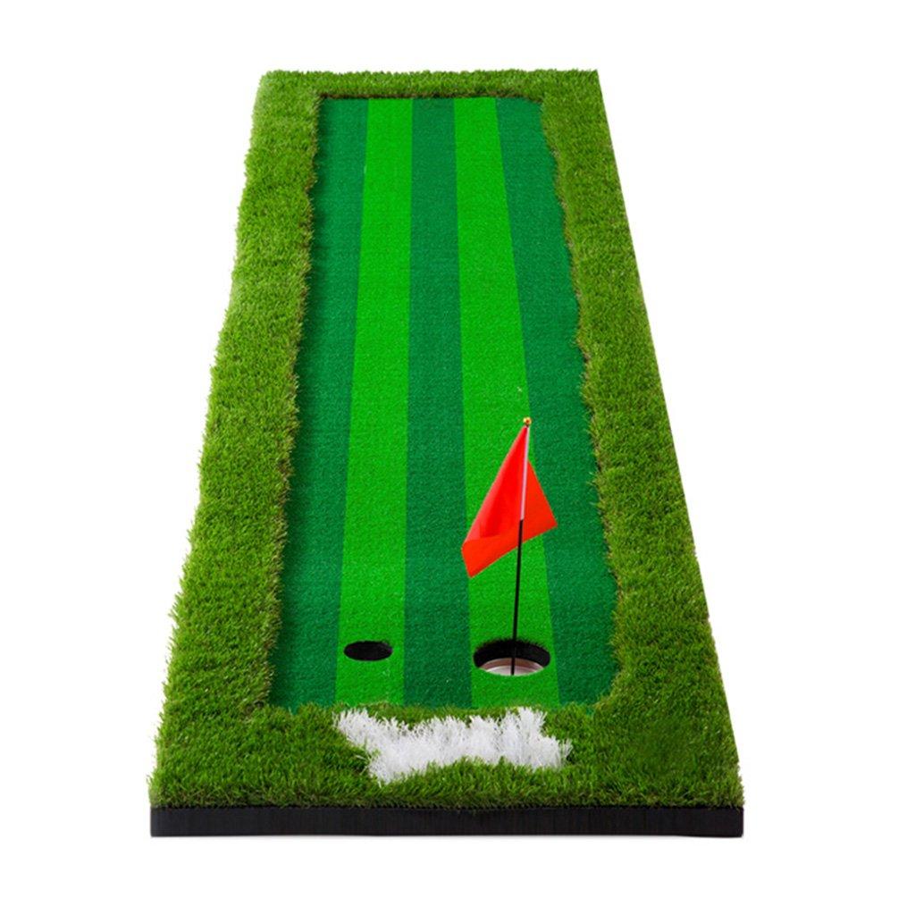 ゴルフグリーン、屋外ポータブルゴルフグリーン屋内ゴルフパッティング練習オフィスグリーンホームパター練習用毛布 (Color : Green, Size : 75 * 300cm) 75*300cm Green B07H4NKQX7