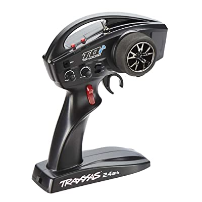 Traxxas TX TQi Link Enabled 2.4 GHz Hi Output 4-Channel Vehicle, Black: Toys & Games