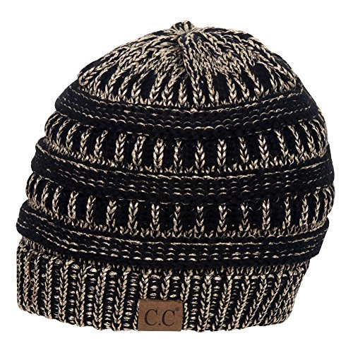 it Beanie, Black/Metallic Gold ()