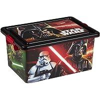 ColorBaby - Caja ordenación 13 litros, diseño star