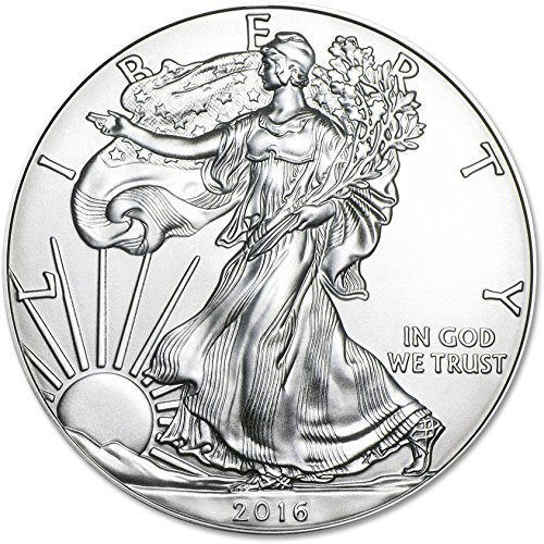 2016 - 1 Ounce American Silver Eagle Low Flat Rate Shipping .999 Fine Silver Dollar Uncirculated US Mint