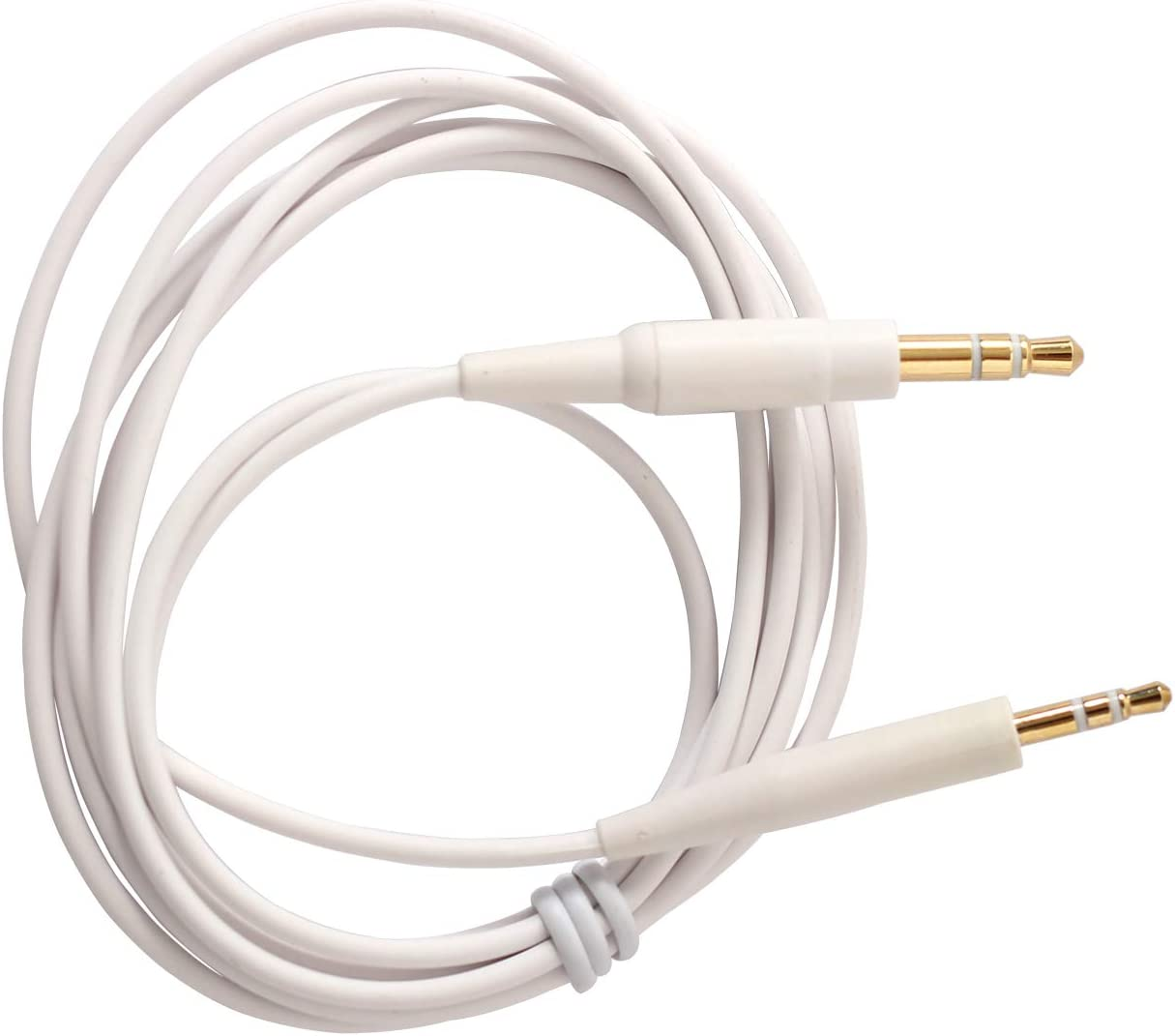 Soundlink Headphone Replacement Cable Fit Bose On-Ear 2//OE2//OE2i//QC25//QC35//Soundlink//SoundTrue Headphones,Headphone Replacement Audio Cable White