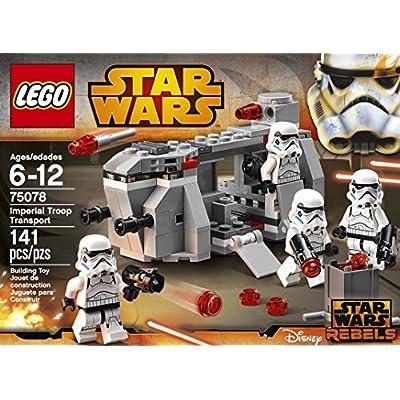 LEGO, Star Wars, Imperial Troop Transport (75078): Toys & Games