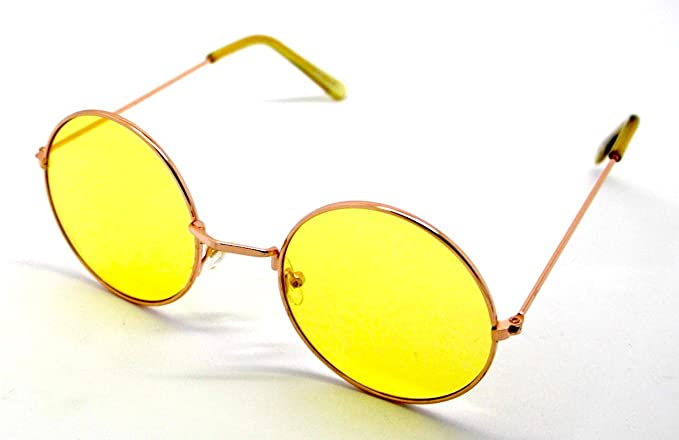 Gafas de Sol Hippie Retro Redondas Lagofree Alta Calidad ...