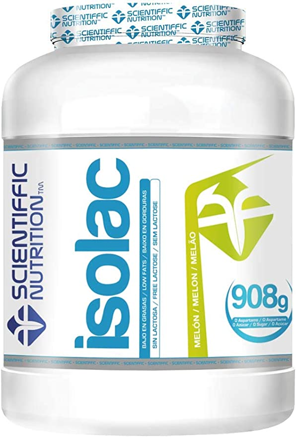 Isolac Whey Protein 908 Grs - Scientiffic Nutrition, MELON