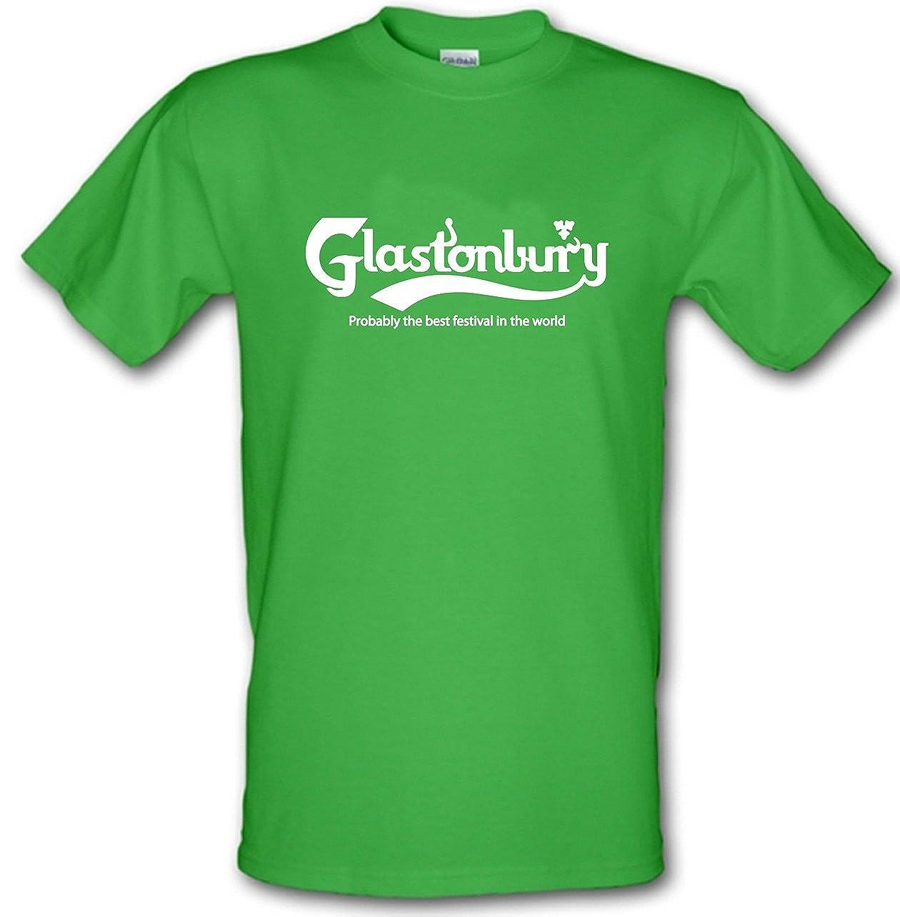 b8652baec Glastonbury Probably The Best Festival T-Shirt in The World Music Festival  Heavy Cotton t-Shirt Colours: Amazon.co.uk: Clothing