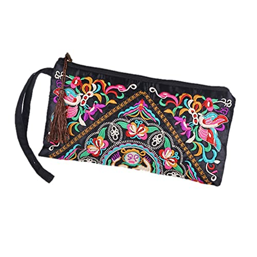 f017e1c229 Amazon.com: Froomer Lady Handbag Purse Handmade Nation Retro Embroidered Bag  Wallets: Shoes