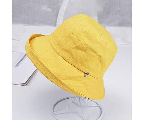 Sombrero de Sombrero de Sol de Verano para Mujer Sombrero de ...