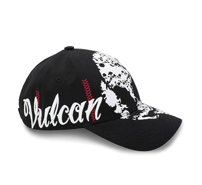 8511ea562 Amazon.com: New Factory Kawasaki '13 Vulcan Crack Skull Baseball Cap ...