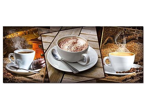 Ausgezeichnet Glasbilder Küche Kaffee Ideen - Das Beste ...