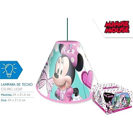 Lámpara de techo Minnie: Amazon.es: Iluminación