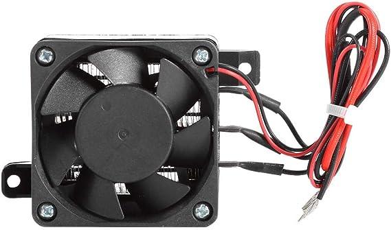 Calentador PTC, Fydun Temperatura Constante Ventilador PTC Calentador para automóvil Incubadora de calefacción de Espacios pequeños para Calentador, humidificador ...