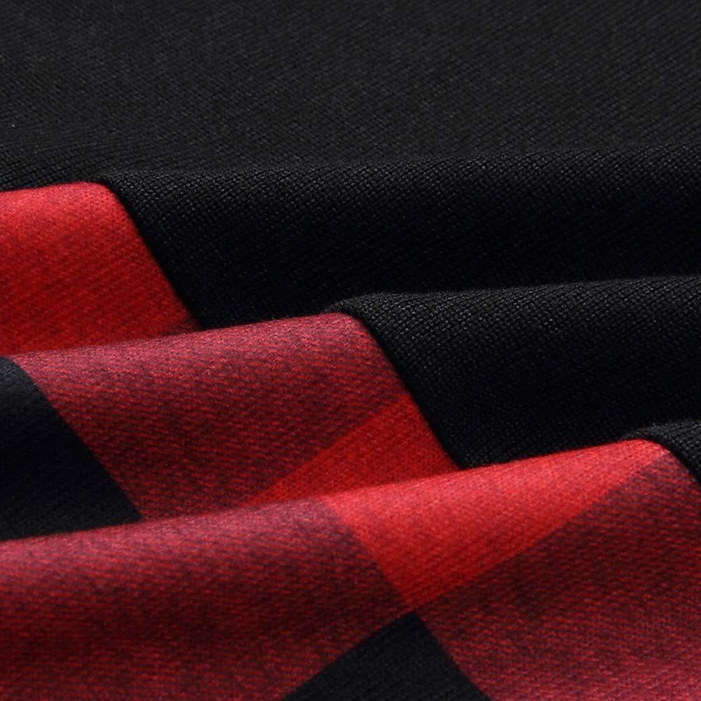 PRAYAS Turtleneck Long Sleeve Tartan Knitwear