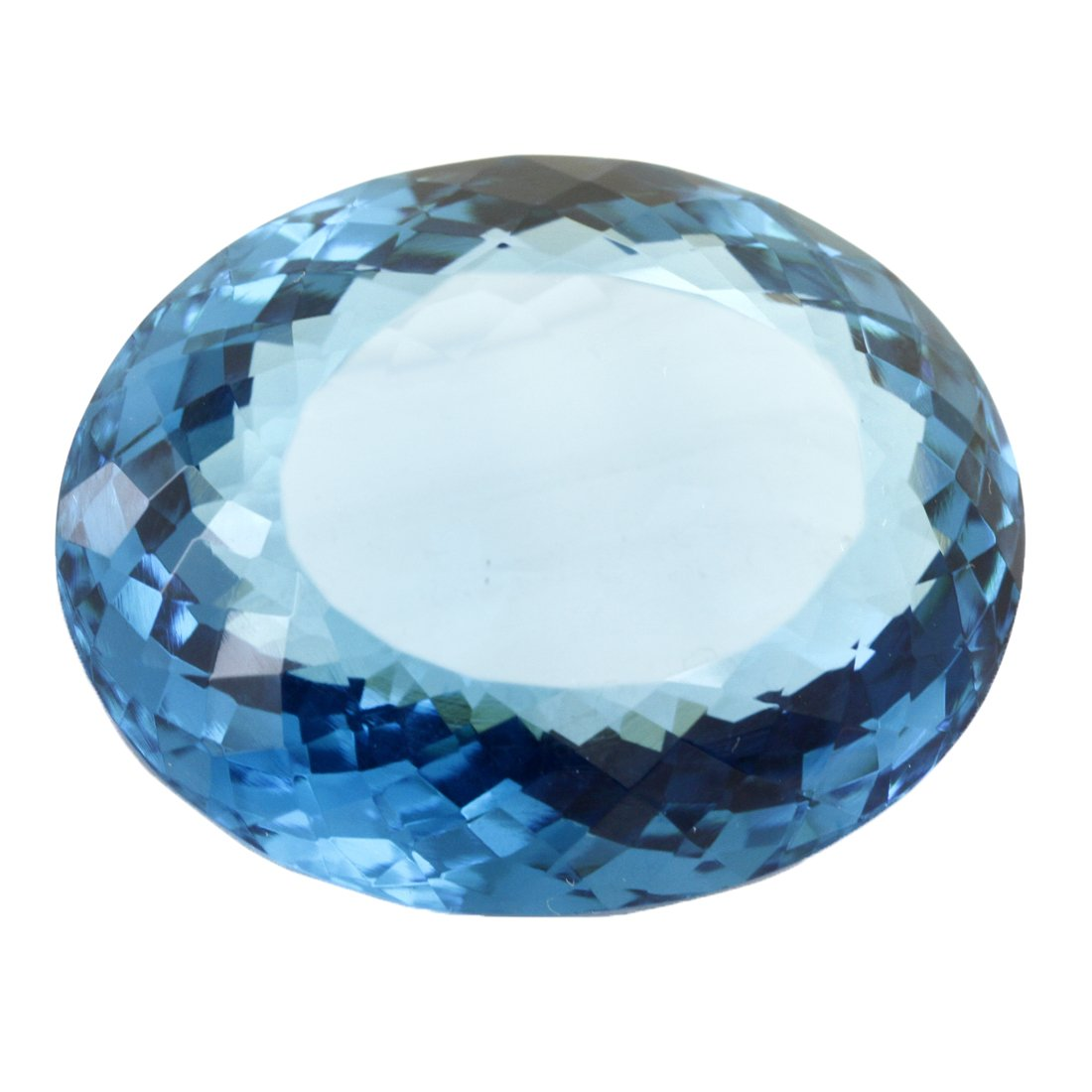 Skyjewels Certified 134.80 Cts. Blue Topaz Gemstone AAA Quality